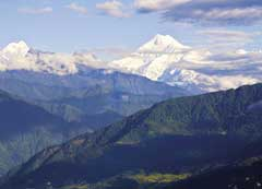 Tashi view point in Sikkim Darjeeling Tour