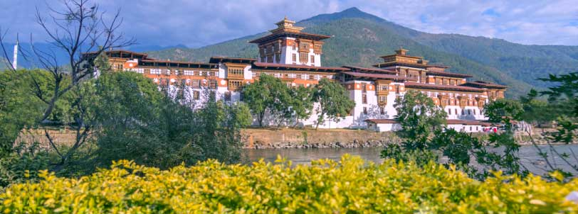 Bhutan Tour Plan from Delhi by Flight