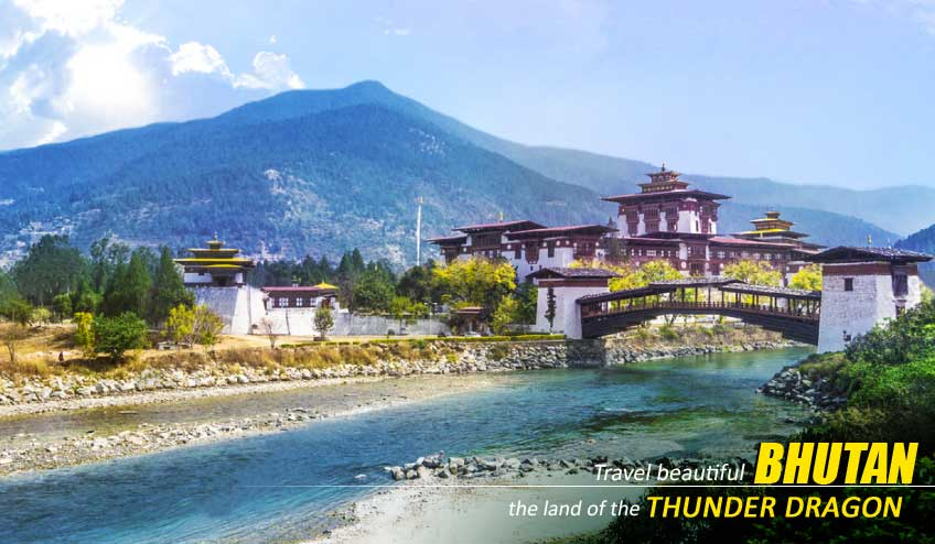 bhutan package tour from ahmedabad