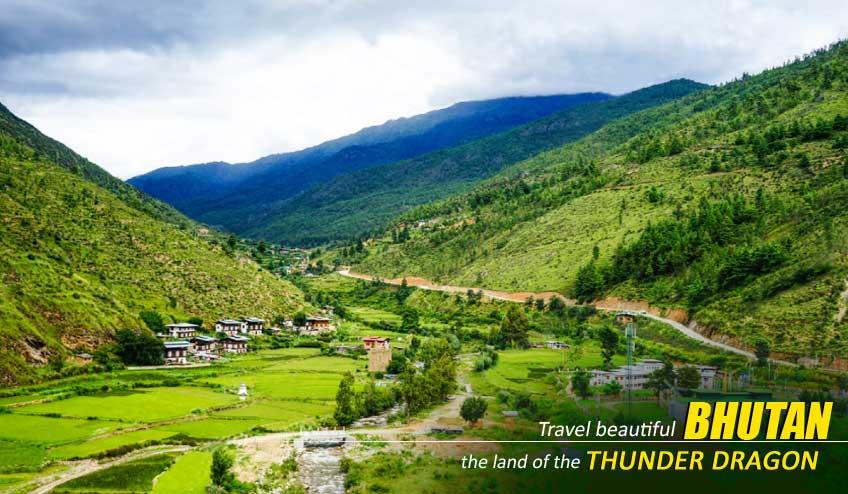 bhutan tour packages ex bagdogra