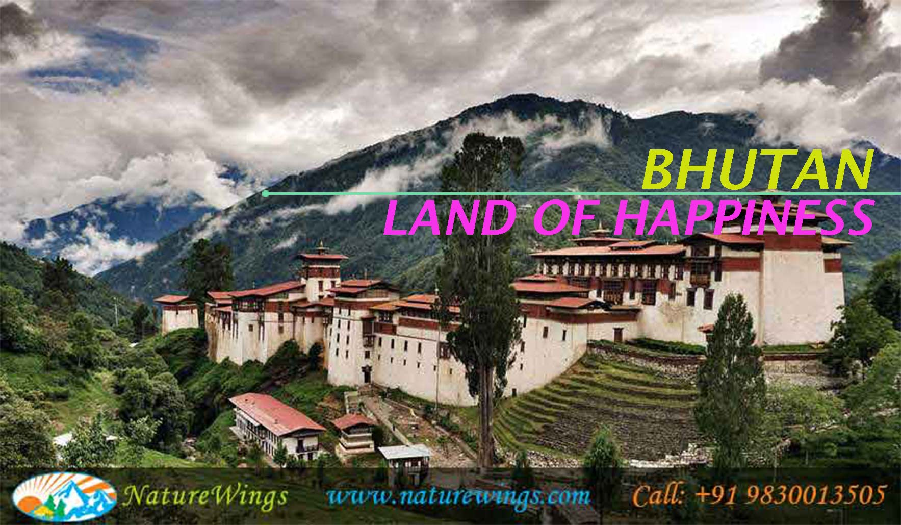 Enjoy Beauty of Bhutan during Bhutan Package from Mumbai