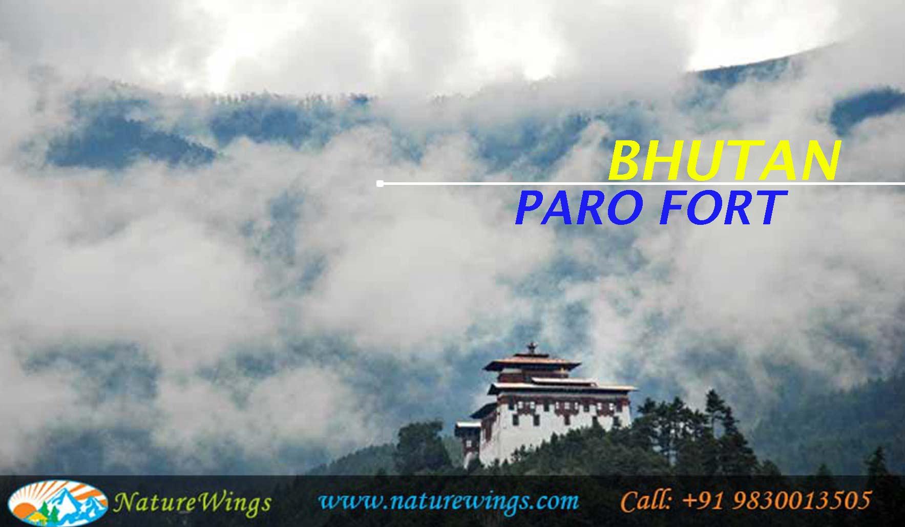 Visit Paro fort during Bhutan Package from Mumbai