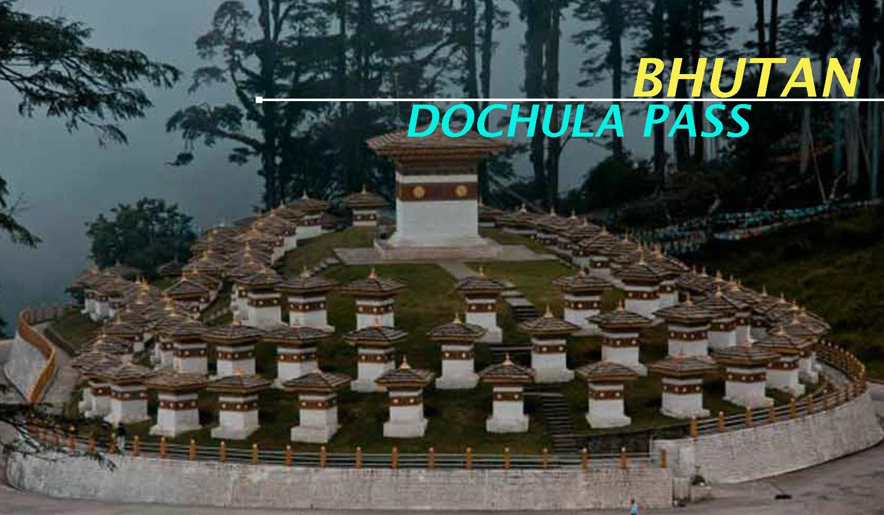 Visit Dochula Pass during Bhutan Package from Mumbai