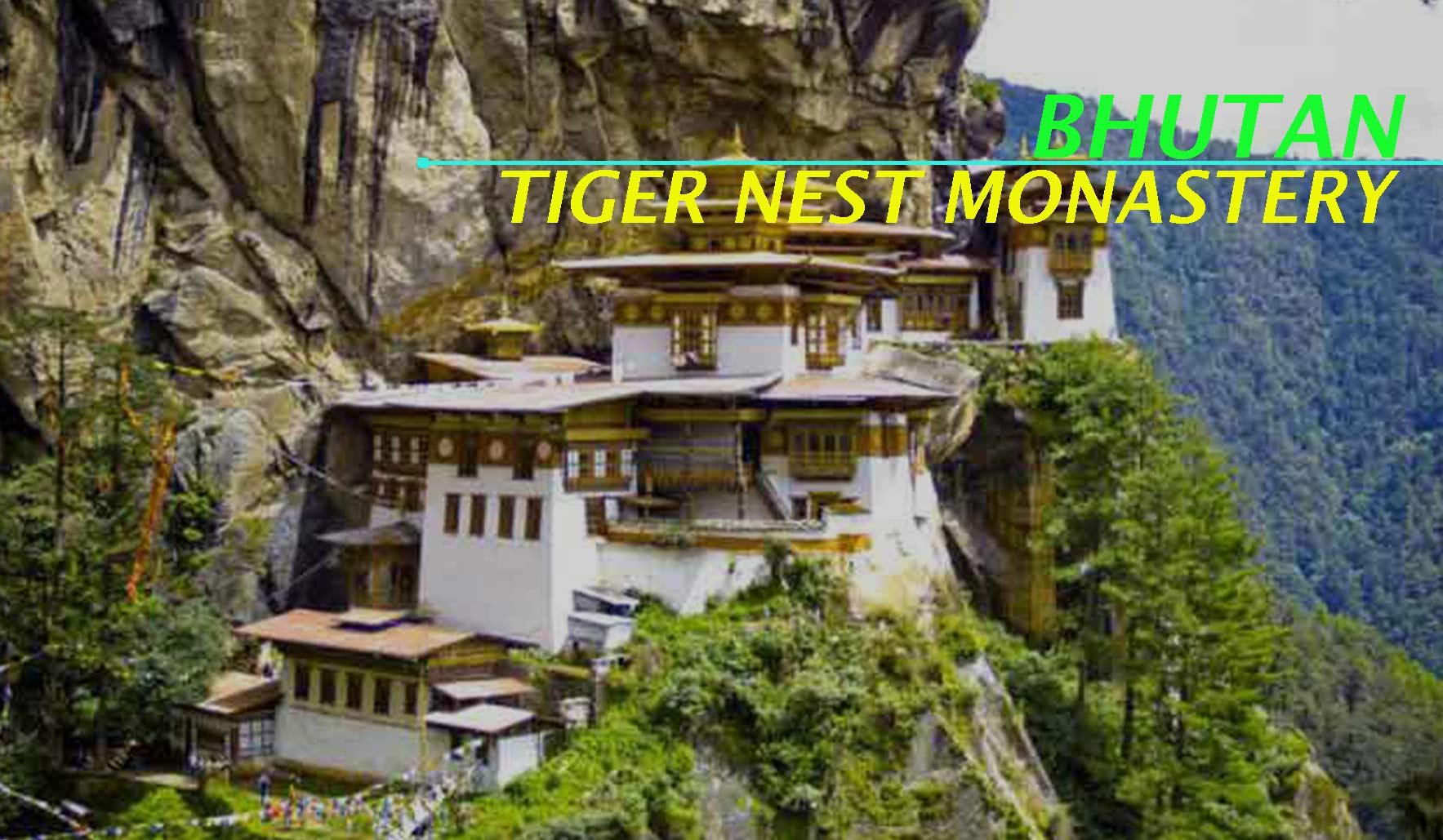 Visit Tiger Nest Monastery during Mumbai to Bhutan Trip
