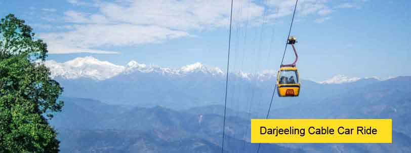 darjeeling cable car ride