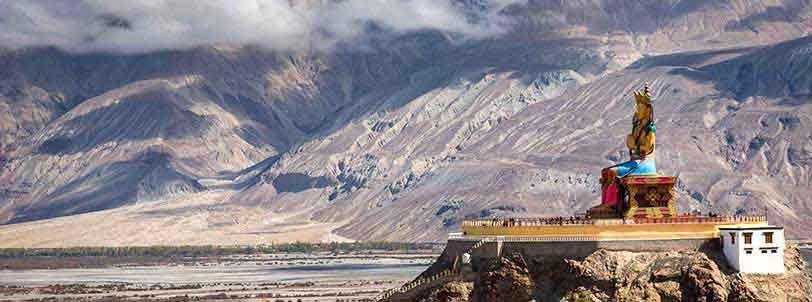 Diskit Monastery Ladakh Package Tour