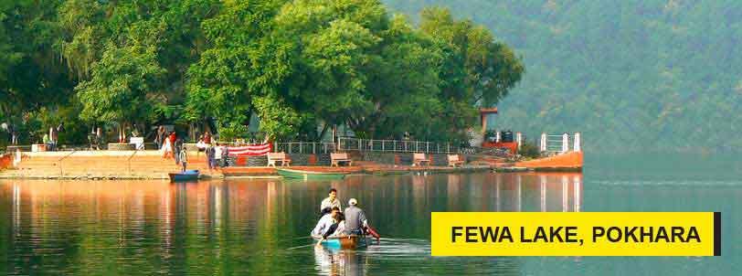 fewa lake pokhara package tour