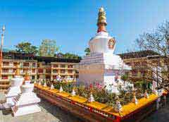 Do-drul-chorten in Sikkim Darjeeling Package