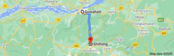 Guwahati to Shillong Package Tour