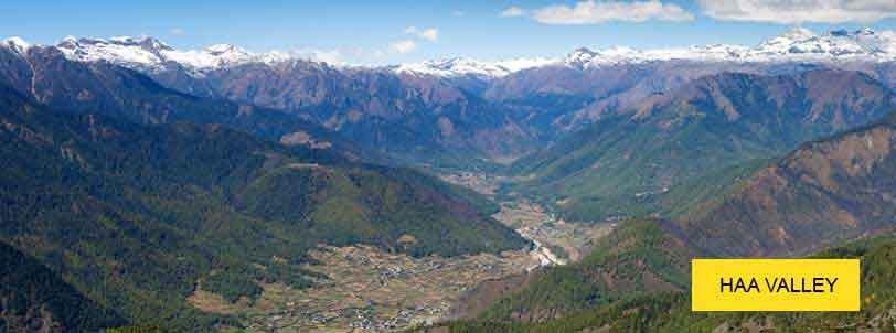 haa valley tour package bhutan