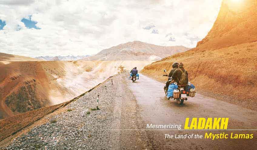 leh ladakh bike tour packages