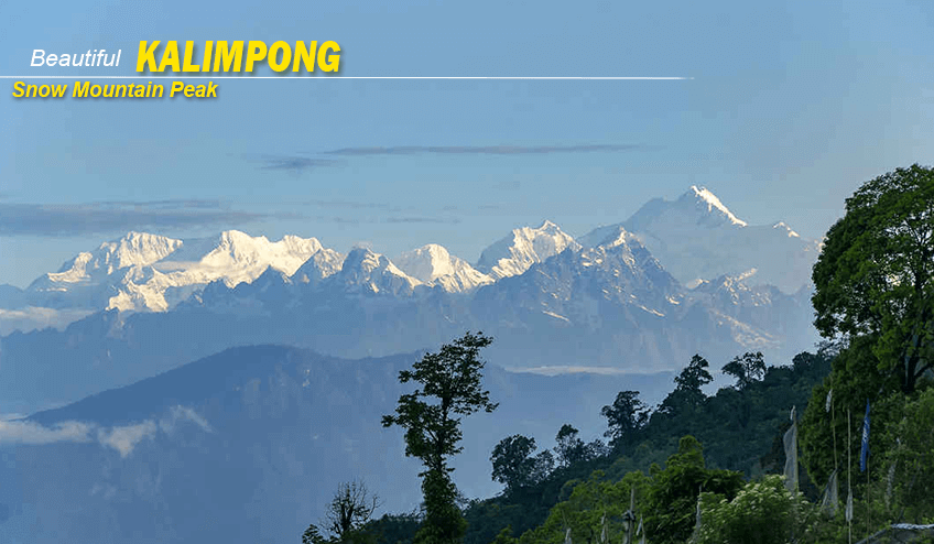 Beautiful view during Kalimpong Package Tour