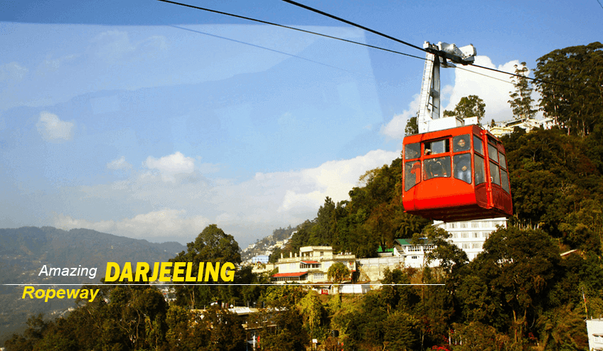 Darjeeling Ropeway during Kalimpong Package Tour