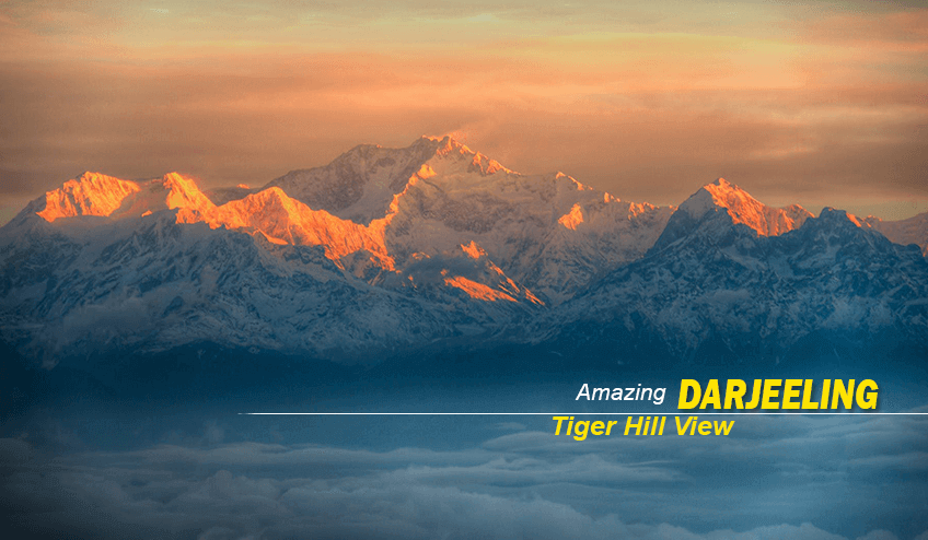 Tiger hill during Kalimpong Package Tour