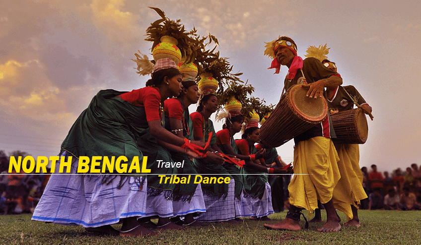 Tribal dance during North Bengal Package Tour