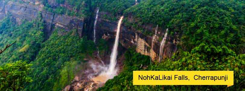 north-east-tour-packages-with-nohkalikai-falls