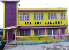Ava Art Gallery in Darjeeling