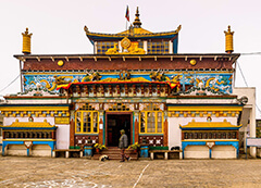 Ghoom Monestry in darjeeling