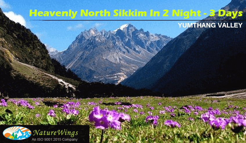North Sikkim 2 Night 3 Days Tour Packages