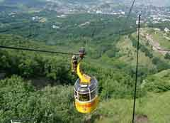 rangeet valley passenger ropeway cable car in Sikkim Darjeeling Trip