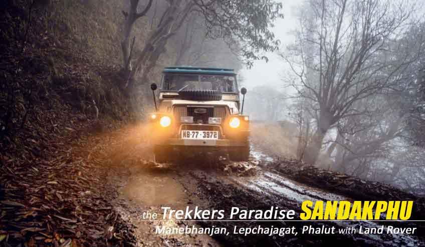 explore sandakphu phalut with majestic land rovers