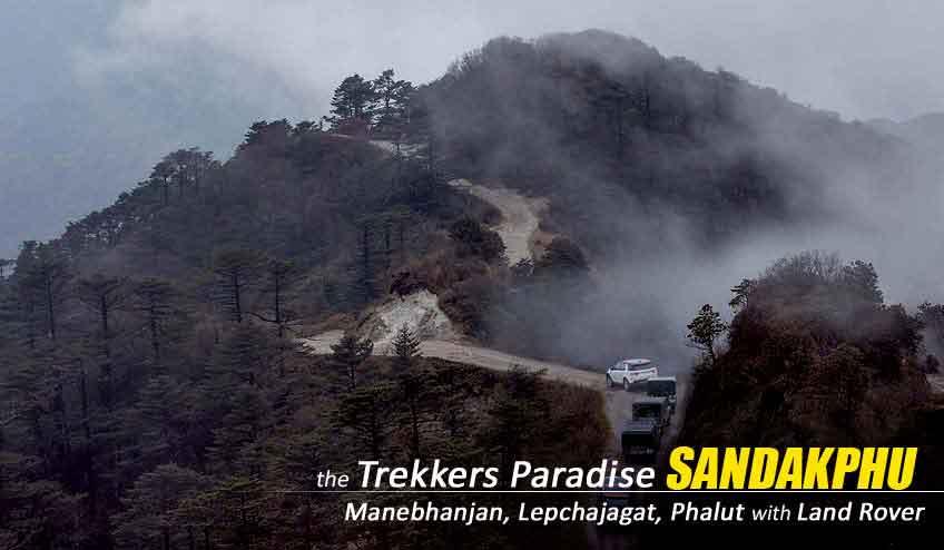 trek sandakphu by land rover