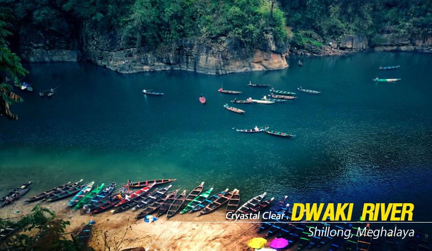 dwaki river shillong tour