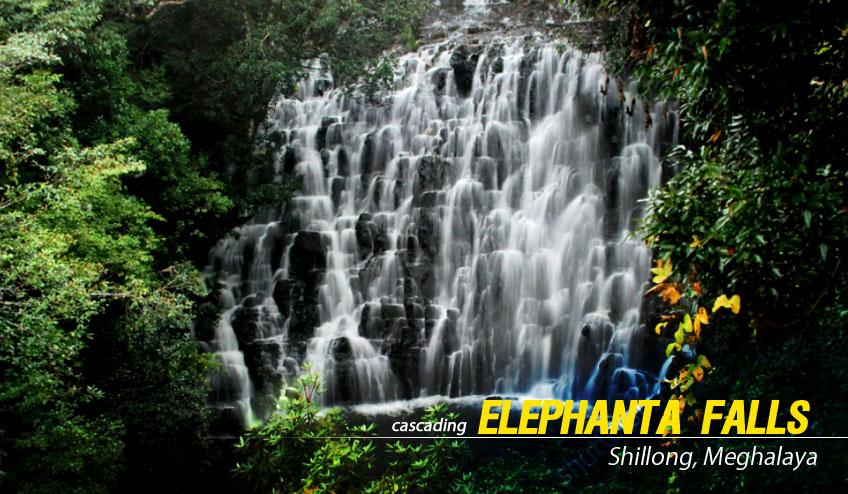 elephanta falls shillong package tour