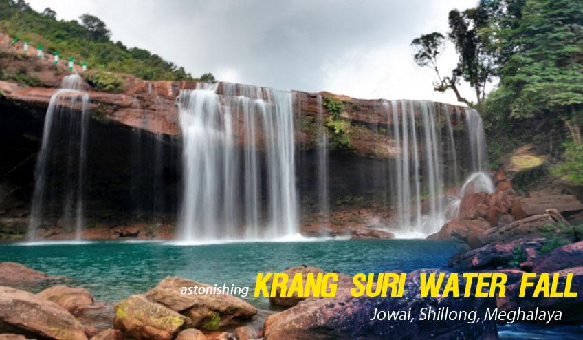 krang suri water fall jowai