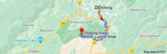 shillong to shillong view point