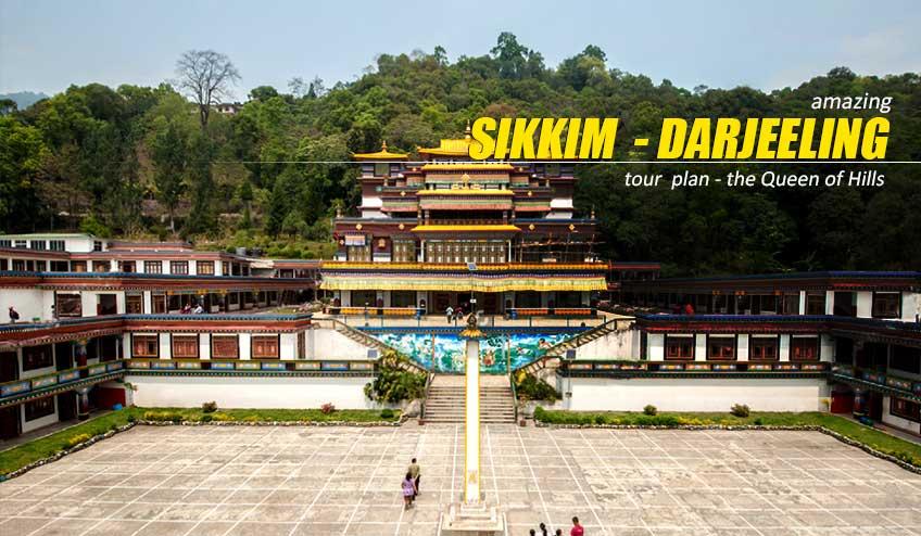 darjeeling gangtok tour plan