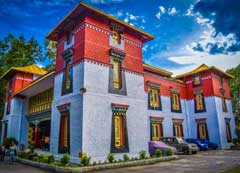 Namgyal-Institute-of-Tibetology in Gangtok