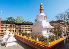 Do-drul-chorten-or-stupa in Gangtok