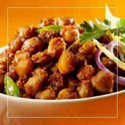sundarban tour food menu - Channa Masala