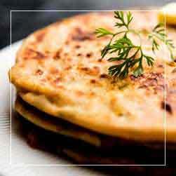 sundarban tour food menu - Paratha