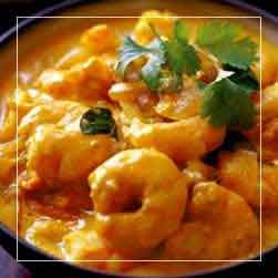 sundarban tour food menu - Chingi Malai Curry