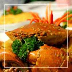 sundarban tour food menu - Crab Curry