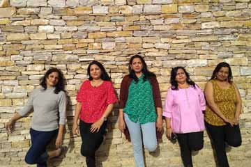 Megha Thawani and Group enjoying Bhutan Sightseeing Trip