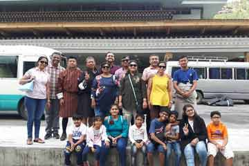 Rina Parikh from Vadodara Group enjoying Bhutan Activities