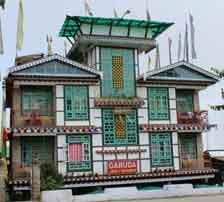 hotel garuda pelling, west sikkim