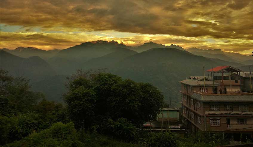 view-from-ladhakh-guest-house-Pelling-Sikkim