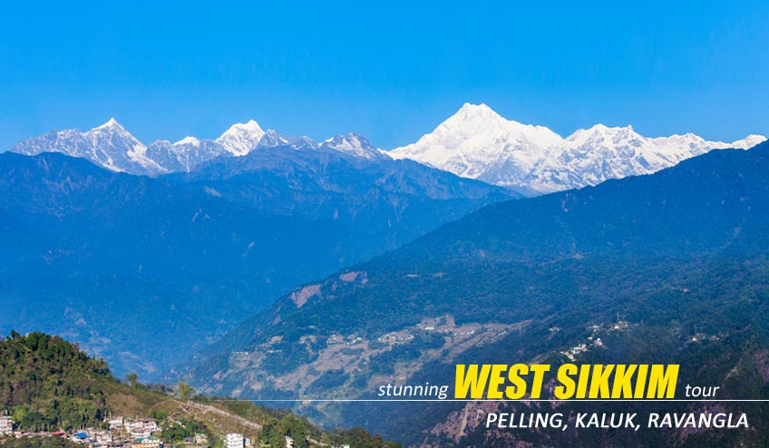 west sikkim package from kolkata