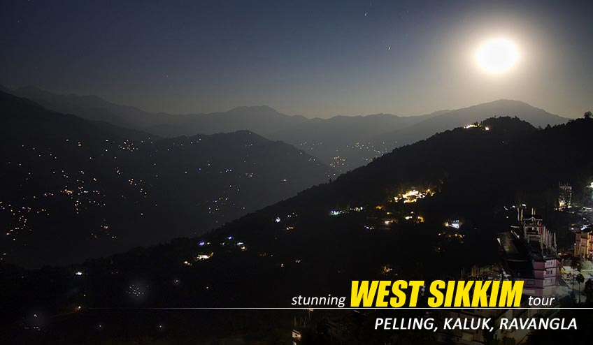 west sikkim tour plan